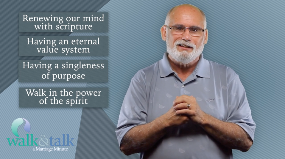 Marriage Minute with Alan Heller – Psychological Area