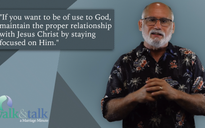 Marriage Minute With Alan Heller – Spiritual Area of Life